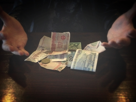 Foreign Currency Plastic Problems